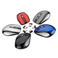 5 Color 2.4GHz High Qulity Wireless RF Optical Mouse/Mice+USB 2.0 Receiver For PC Laptop(China)