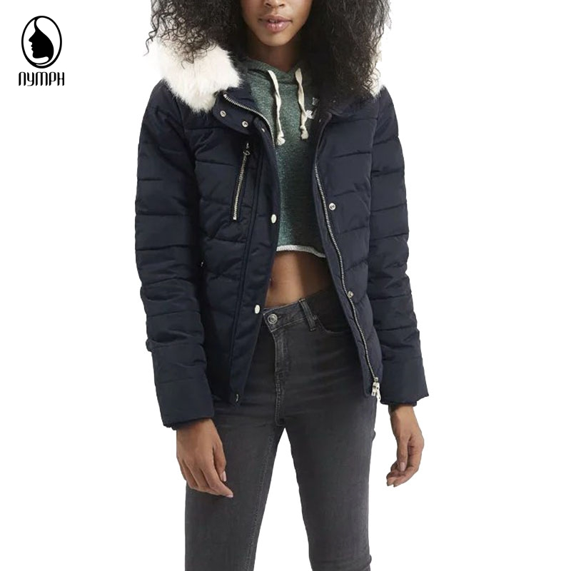Women Winter Army Green Dark Blue Parka 2017 New Fashion Long Sleeve Fur Hooded Jackets Cotton Padded Warm Thicken Womens CoatsОдежда и ак�е��уары<br><br><br>Aliexpress
