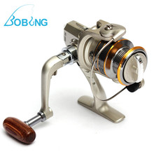 New Hot sale 6 BB 6BB High Power Gear Spinning Spool Aluminum Fishing Reel SG1000 for Fishing tackle line Bait Runner