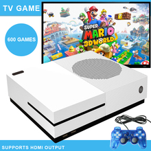 10pcs/lot Mini TV Retro Video Game Console 4GB Built-in 600 classic game support HD HDMI For FC/GBA/SNES/SMD(China)