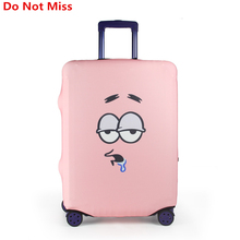 Do Not Miss New 2017 Cartoon Luggage Protective Covers For 18-32 Inch Travel Trolley Case Suitcase dust cover Travel accessories