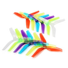 10 Pairs Racerstar V2 5042 5x4.2x3 5.0mm Mounting Hole 3 Blade Propeller Purple Red Blue White Green For RC Models CW CCW