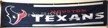 NFL Houston Texans Flag Banner New 2x8ft 60x240cm 100D Polyester Large Banner, free shipping(China)