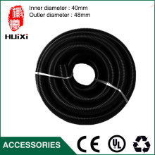 10m inner Diameter 40mm Black hose with High Temperature Flexible EVA vacuum cleaner Hose of  industrial Vacuum Cleaner