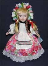 Continental leisure style porcelain dolls are hot 30cm home decor high-end porcelain dolls girl gift