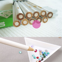 4pcs/set Nail Art Rhinestones Gems Picking Crystal Tool Wax Pencil Pen Picker, Rhinestones Pickup Pens, Nail Art Decoration Tool