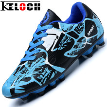 Keloch Good Design Men Soccer Boots Male Breathable Cleats Sport Shoes Training Women Football Boots 3 Color Size 33-43