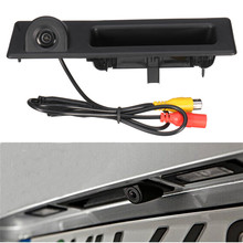 Car Truck Handle CCD Reversing Rear View Backup Camera For BMW 3 Series F30 F31 F34 GT 2011-2016 For 330d Touring 2012 - 2015
