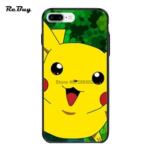 Pokemon Case For Iphone 7/7plus With String Hole PC&TPU Ultra-thin Plating Button Protect Covers For Iphone 6/6s/6plus/6s Plus