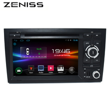 Free shipping 7inch Android 2DIN Car DVD Player For AUDI A4 RS4 2004 Android dvd car 2Din A3 DVD forAudi A3 Wifi GPS Navi Radio