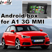 Android GPS navigation box for Audi A1 3G MMI system video interface box mirror link youtube 360 panorama optional(China)