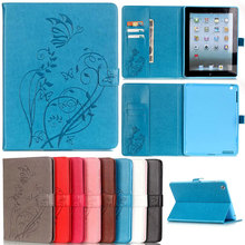 Embossing Pu Leather Case Cover for Apple Pad Pro 2 3 4 5 Air 2 mini 2 4 Slim Magnetic Luxury Tablet With SD SIM Card Holder A53