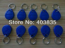 No. 2; 100pcs/Lot RFID Card 125KHz Smart Card Rfid tag( bule )