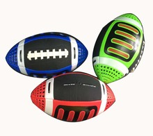 Size 3 Children Rubber Rugby American Football Balls Kids Training Ball England Rugby Beach Sports Entertainment Toy For Hot(China)