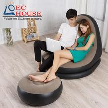 Lazy leisure inflatable sofa cute single folding cr creative FREE SHIPPING