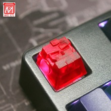 Handcraft ECS R4 BRO Optimus Prime Gaming Mechanical Keyboard Key Cap Suitable Multimedia for Cherry MX Keys PBT Keycaps