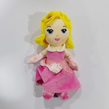 Original Rare Sleeping Beauty Q Aurora Princess Briar Rose Stuff Plush Toy Doll Baby Girl Birthday Gift(China)