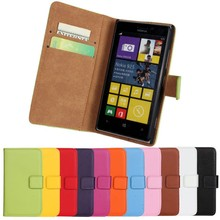 Luxury Genuine Leather Flip Cases For Nokia Lumia 925 Retro Stand Book Style Wallet For Nokia Lumia 925 Phone Cover Shell Bags