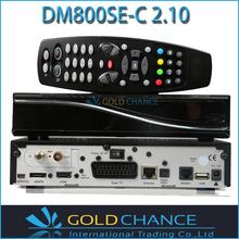 Dm800hd se dvb-c Cable Tuner SIM Card 2.10 400MHz MIPS Processor Dm800hd se Cable Free Shipping