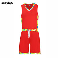 New Basketball Training Uniforms DIY Sportswears Women Kits Good Quality Adult Jerseys Shorts Outdoors Suits Customized