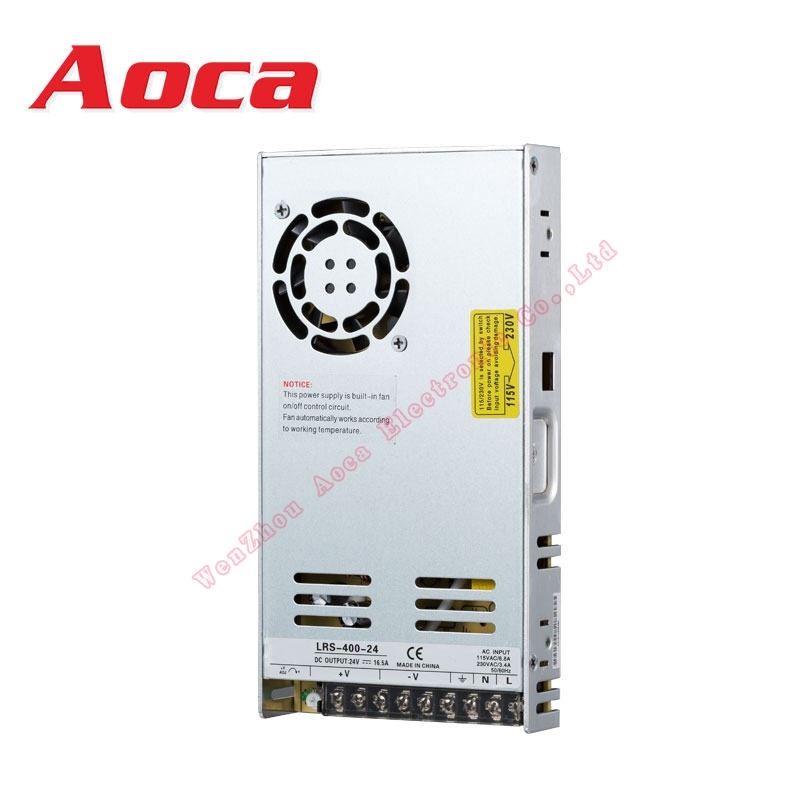 LED 400w 12v LED Power Supply - Constant Voltage LED Transformer - Switching Power Supply 12V 24v DC, 400W