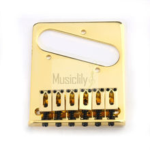 Gold 6 String Electric Guitar Bridge For Fender Tele Telecaster TL