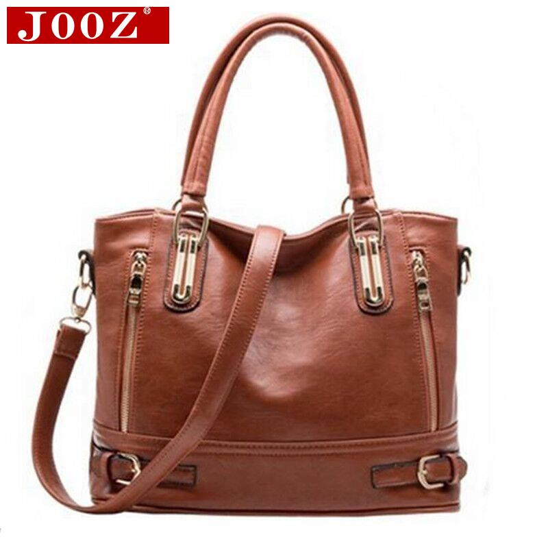 JOOZ 2016 women Genuine Leather Tote Bolsas women handbags women messenger bags Genuine Leather Hot Shoulder Bag Ladies Handbags<br><br>Aliexpress