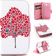 Wallet PU Leather Phone Cover Case Flip Shell Back Cover&Card Holder Stand Cell Phone Case For Samsung S3 9300/S4 9500/S6 9600
