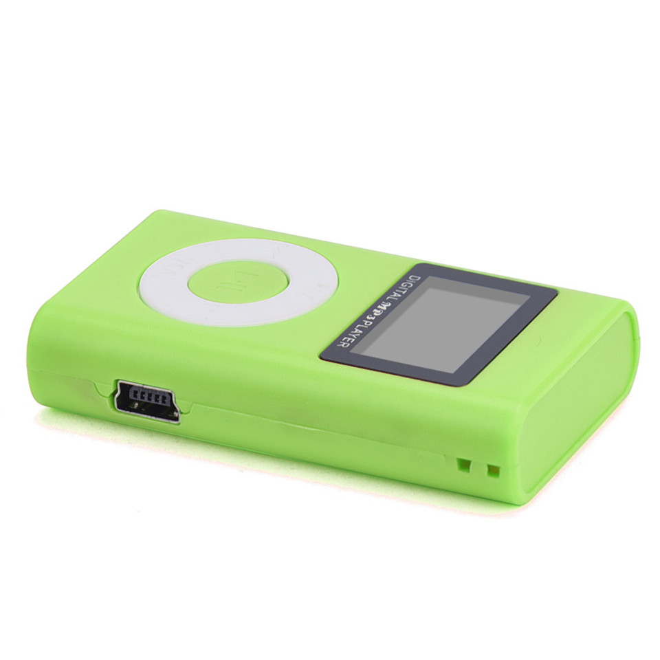 YKSO Mini MP3 Music Player USB LCD Screen MP3 Portable audio Support 32GB Micro SD TF Card sport Headphones MP3 Player (5)