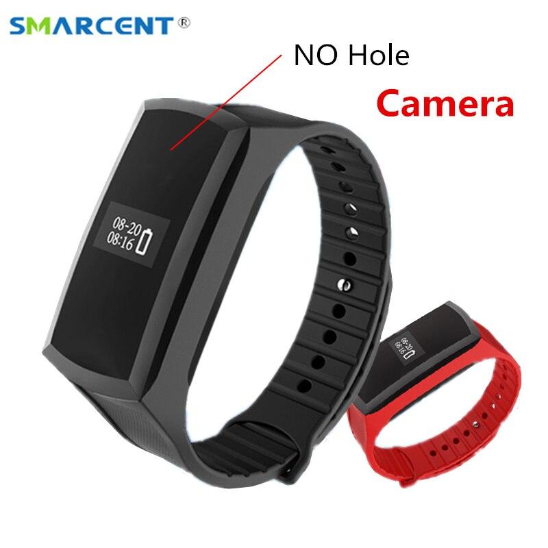 SMARCENT X18 Smart Band Mini Camera Watch HD 1080P Mini Camcorder Pedometer Wristband Secret Camera Voice Video Recording Cam<br>