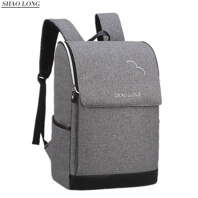 New Waterproof Men Laptop Backpacks Business Computer Backpack Casual Travel Shoulder Bags for teenagers Backpack Male Grey Bag<br>