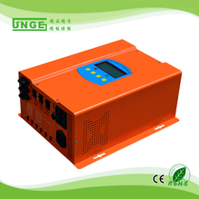 12v dc 110v 220v ac ups inverter pure sine wave 500w inverter built in 30a solar charger controller