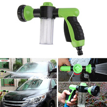 2017 New Multifunction High Pressure Car Home Snow Foam Water Clean Pipe Washer Gun Sprayer Cleaner Portable Washing Machine