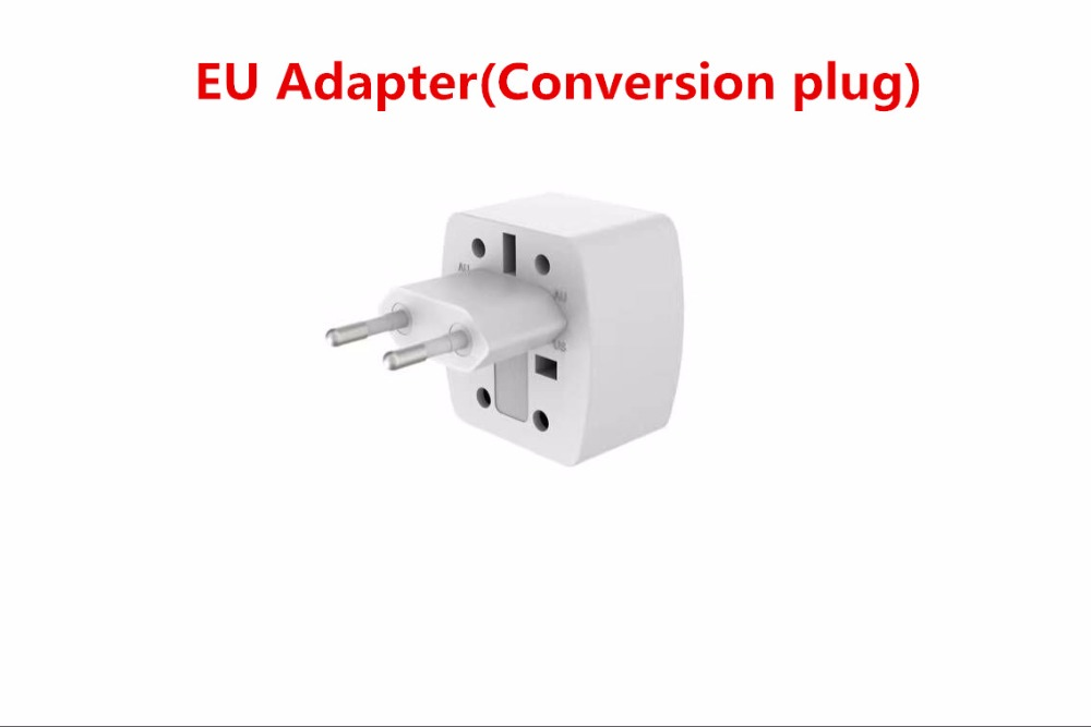Grounding 3 EU power socket outlet 6 USB adapter wall charger dock 5V 3.4A surge protector extension strip for phone camera home