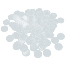 100pcs 27mm Plastic Box Coin Holder Capsules Container Coin Round Case Transparent Gaine(China)