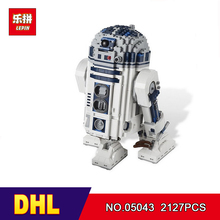 DHL Lepin 05043 2127pcs Genuine Star Series The R2 Robot Set D2 Out of print Building Blocks Bricks Toys 10225 wars(China)