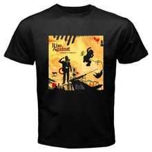 New RISE AGAINST Appeal To Reason Rock Band Men's Black T-Shirt Size S To 2XL Short Sleeve Men T Shirt Tops Summer(China)