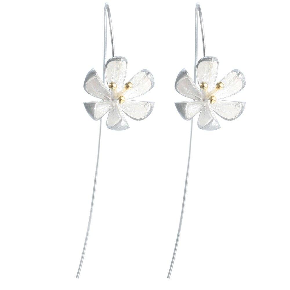 QIAMNI-925-Sterling-Silver-Yellow-Flower-Dangle-Drop-Earring-Hook-Minimalist-Jewelry-for-Women-Girls-Pendientes