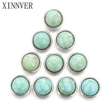 10pcs/lot Snap Jewelry DIY 12MM Snap Buttons With Zinc Alloy Bottom for Snaps Bracelets fit Xinner snap Jewelry
