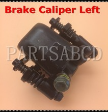 LEFT SIDE Brake caliper for Chinese 50cc 110cc 150cc 250cc ATV quad dirt bike scooter go kart Black(China)