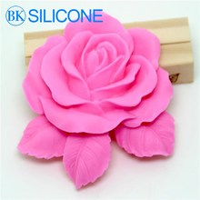 Leafy rose Cake silicone mold cake decorating tools silicone cake sugar craft tools flower mold AA004