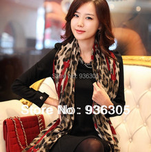 New hot!  The new autumn/winter 2015, big hearts, leopard scarf fashion. FREE SHIPPING ! Min. Order $ 10 (mix order)