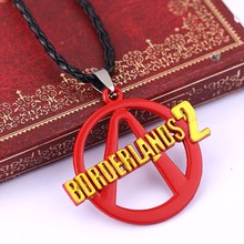1 Game Jewelry PS 3 Borderlands 2 Alloy Red Pendant Necklace Cosplay Collares Mujer Chokers Bijoux Men Women 11304 - HSIC Store store
