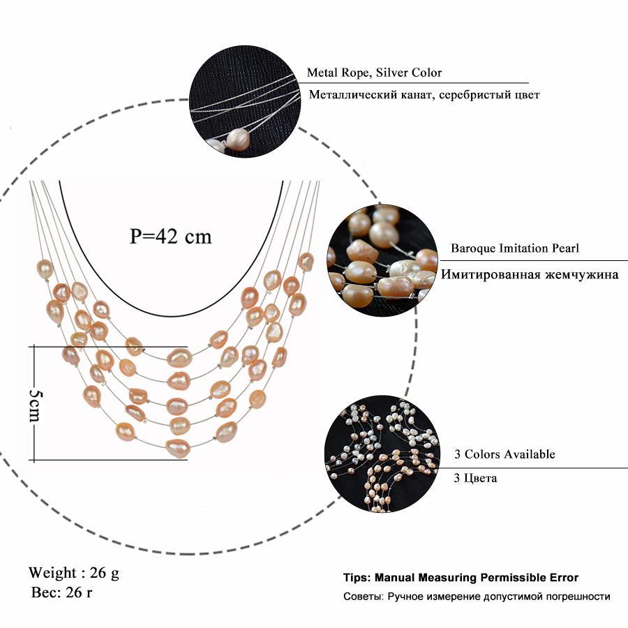 HTB1U93iRVXXXXXwXFXXq6xXFXXXp - RAVIMOUR Simulated Pearl Jewelry Multilayer Boho Choker Necklace for Women Fashion Baroque Perlas Statement Necklaces & Pendants