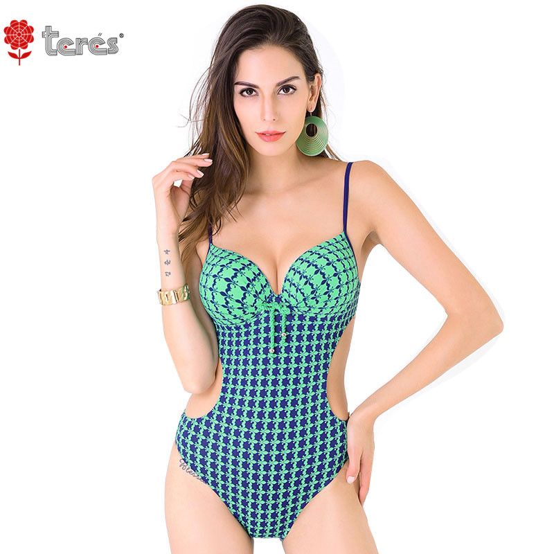 2017 Push Up Monokini Bikini High Waist Swimsuit Sexy Bathing Suit Swimwear Women Plus Size female Bikini Set Biquini L-4XL<br>