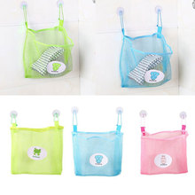 Creative Double Suction Cup Hanging Pouch Family-Specific Storage Bag(China)