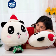 Papa Bear plush toy panda queen pillow LED lighting Christmas gift items to send girls dolls Health