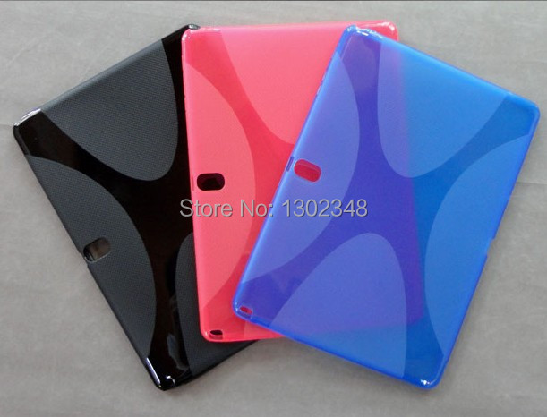 New Anti-skid X Line Soft Silicon Rubber TPU Gel Skin Shell Cover Case For Samsung Galaxy Tab Pro 10.1 T520 T521 10.1 Tablet<br><br>Aliexpress