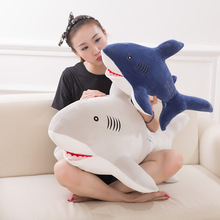 55cm Plush Ocean Cartoon Shark Toys Soft Cute Pillow Super Soft Stuffed Animal Shark Dolls Best Gifts for Kids Friend Baby 21""