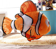 "J.G Chen Free Shipping Movie Finding Nemo Cute Clown Fish Stuffed Animal 16"" 43cm Retail Wholesale Plush Toys for Kids"